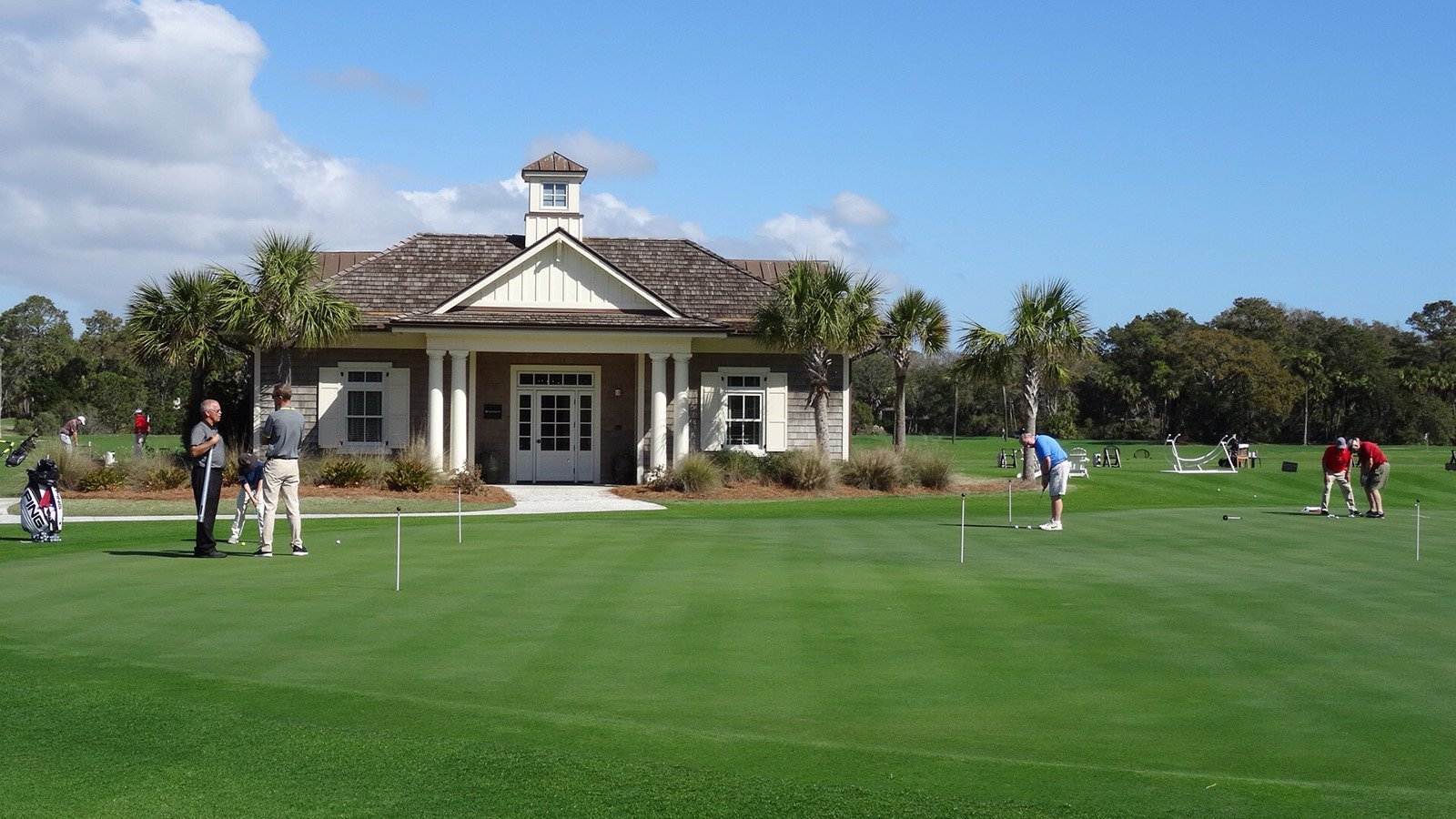 Golf Learning Center at The Sea Pines Resort